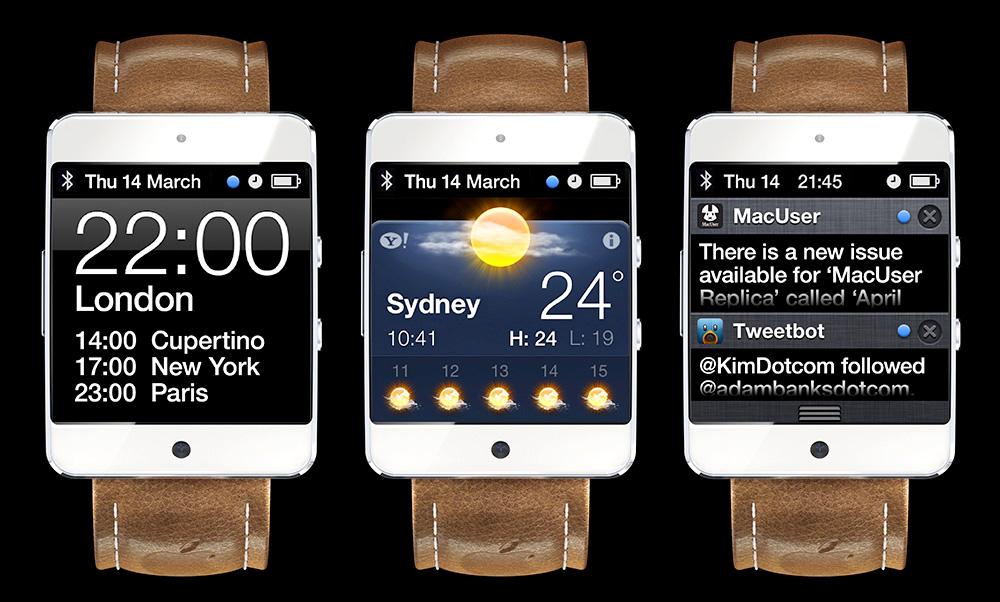 蘋果iWatch數位手錶