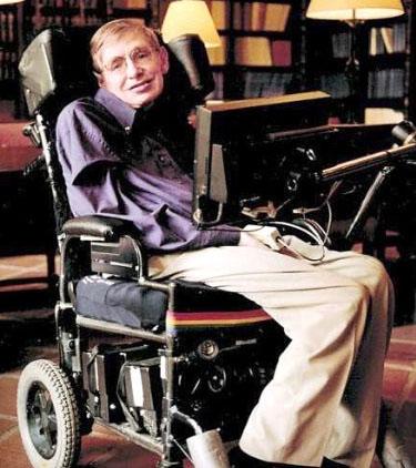 漸凍人生中的一股暖流。圖為罹患「漸凍症」的傑出物理學家和天文學家史蒂芬.霍金(Stephen William Hawking)。p1023-16-01a