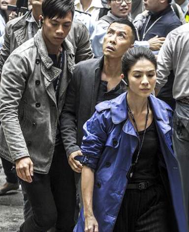 電影《一個人的武林》,左起王寶強、甄子丹、楊采妮。p1025-a8-05