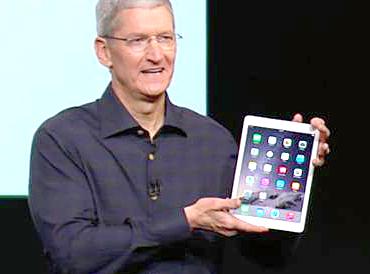 蘋果公司史上最薄iPad Air 2發表。p1027-a4-02