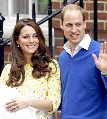 威廉王子與抱著小公主的 凱特王妃p1055-a1-05