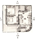圖為福分:1.先看方位──與屋主的生命磁向相合。2.若屋磁向與屋主磁向不合,改門之方位。3.找客廳財庫位,即屋主磁向吉方──財庫位。4.臥房──以房中屋主磁向吉位當臥房。5.床位──臥室中找自己的吉位。6.神位或密壇──屋主磁向吉方p1057-a1-01