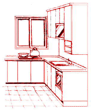 圖為廚房的火,要「藏風聚氣」,若不「藏風聚氣」則會散財p1066-a1-01