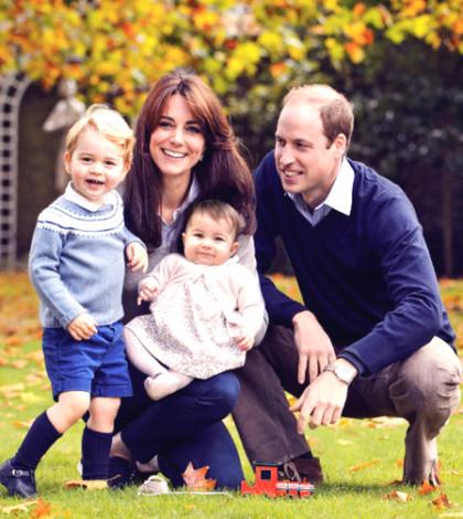 英國威廉王子與妻子凱特一家四口p1092-a4-02
