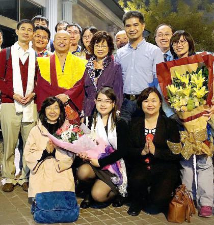 圖為台灣雷藏寺影音組2016年1 月 5 日拜見師尊師母p1093-14-01