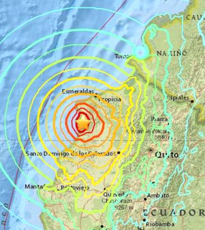 震央在南美厄瓜多西北部外海p1105-a1-16