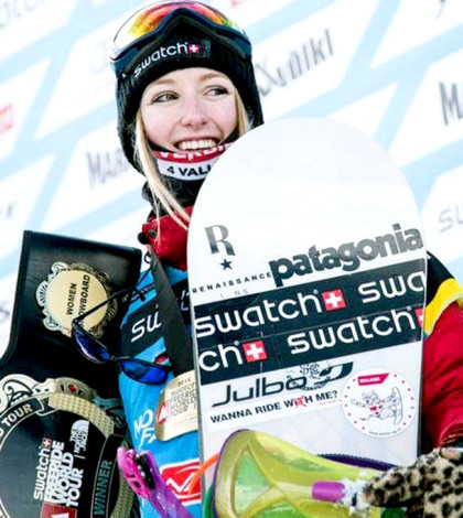 滑雪冠軍艾斯特麗p1105-a4-05