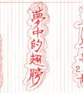 圖為法王作家蓮生活佛盧勝彥第255冊文集《夢中的翅膀──我的人生靈感》手寫稿封面p1120-03-08夢中的翅膀