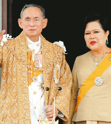泰國國王蒲美蓬伉儷p1131-a4-01a