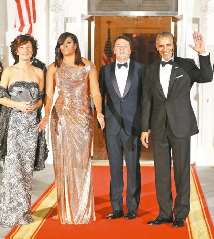 美國總統歐巴馬夫婦與義大利總理倫齊伉儷p1131-a4-03