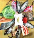 創意製造擬真魚包、菜包p1132-a1-09