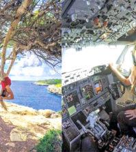 現年29歲的瑪琳‧呂德奎斯特(Malin Rydqvist)是波音737的機師,她曾在2008年時滑雪不幸受傷,之後更留下背痛的後遺症,為了解決背痛的困擾於是她開始接觸瑜伽。瑪琳表示「瑜伽是最有效的。它讓我充滿正面能量。」p1137-a6-02