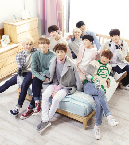 韓國男子團體「SF9」受邀來台表演表示,有時間想去逛夜市,品嚐台式古早味蛋糕、小籠包和奶茶。p1142-a5-04