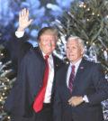 美國準總統川普(左)與準副總統潘斯p1144-a4-01