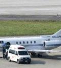 劉德華搭乘醫療專機回香港治療p1145-a8-11