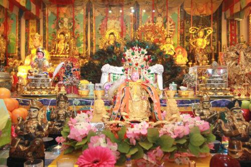 圖為華光雷藏寺的瑤池金母p1147-13-02