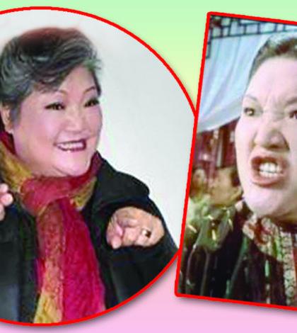 63歲香港知名綠葉演員魯芬、「九品芝麻官」中扮演「烈火奶奶」p1147-a8-11