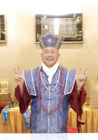 圖為法王蓮生活佛盧勝彥p1148-06-02