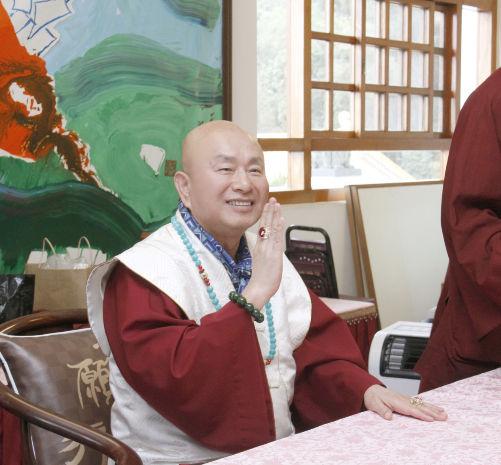 圖為法王作家蓮生活佛p1152-03-13