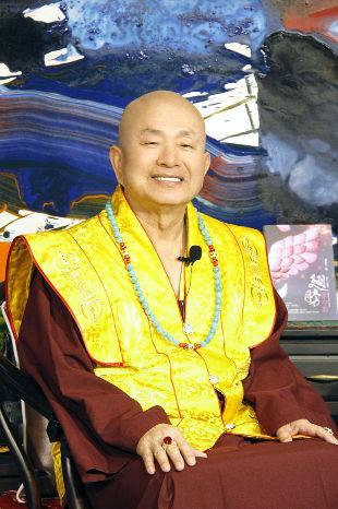 圖為當代法王蓮生活佛盧勝彥p1152-04-01