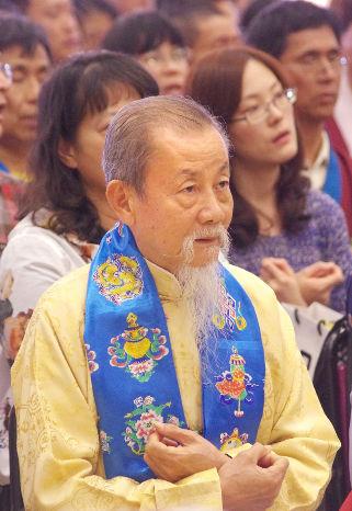 圖為蕭氏宗親會榮譽會長蕭熹枏先生p1152-10-03
