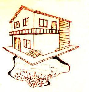 圖為「填土」建屋前,若把農作物活埋在土中,或將愉蝦池直接填土,會造成陽宅「發」不起來的結果,不可不慎唷!p1152-a1-01