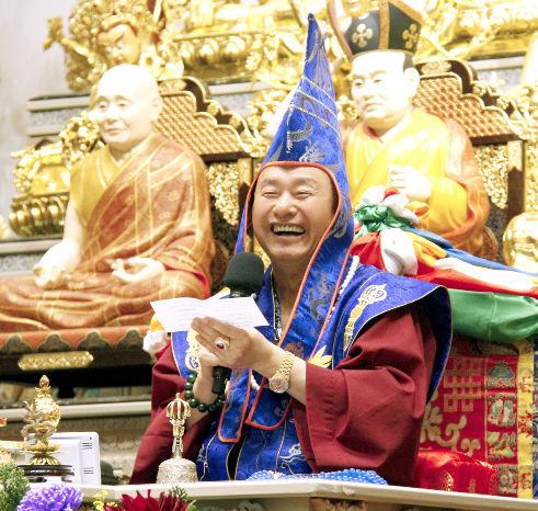 圖為蓮生法王說法妙語如珠p1153-10-01
