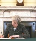 英國首相梅伊簽署脫離歐盟的信函p1154-a4-05