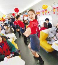 深圳的高鐵列車上一景p1155-a4-03a