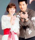 韓國KBS電視臺新劇「推理的女王」在首爾永登浦區舉行發布會,演員權相佑、崔江姬、李源根、申賢彬、導演金振宇等出席。p1155-a5-03