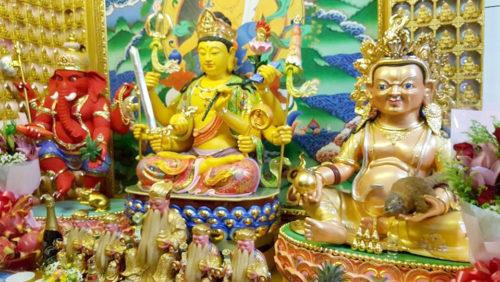 圖為香華雷藏寺莊嚴壇城。 p1157-09-06