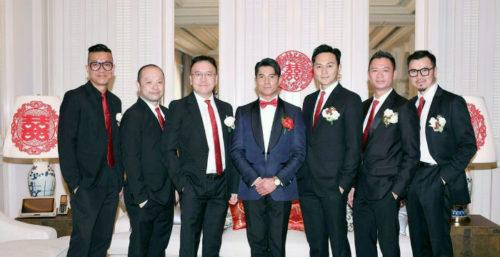 兄弟團包括何國鉦、沈嘉偉、城城圈外朋友、郭富城、張智霖、排舞師Sunny Wong(黃國榮)、演唱會監製Jack p1157-a8-05