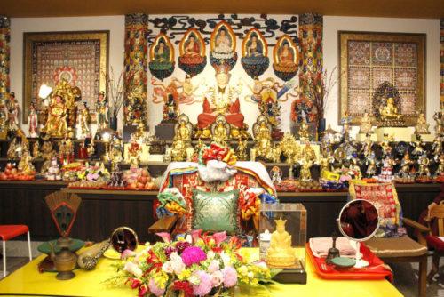 圖為廣喜雷藏寺壇城一景 p1158-08-01