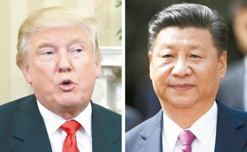 中國國家主席習近平與川普總統都要聯合國嚴辦北韓核試。 p1159-a1-03Web only