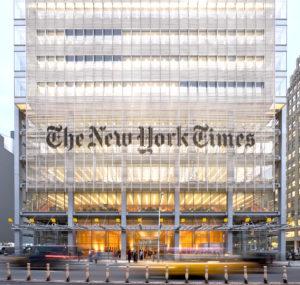 紐約時報位於紐約的總部大樓 p1159-a4-04