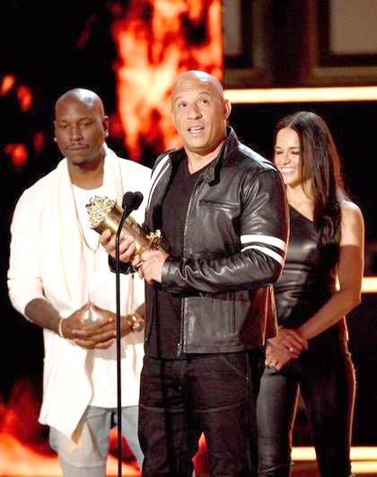 「唐老大」馮狄索獲頒「MTV世代大獎」 感性追憶保羅沃克 p1160-a8-03