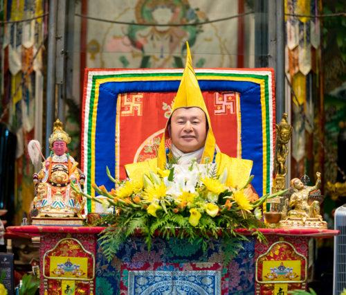 圖為蓮生法王講《道果》 p1161-01-03