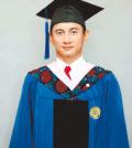吳奇隆獲碩士學位p1168-a8-11