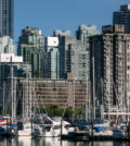 VANCOUVER, CANADA - JUNE 30:  The city skyline and Coal Harbour highrises are viewed from Stanley Park on June 30, 2016, in Vancouver, British Columbia, Canada.  Vancouver, the largest city in British Columbia, is the most populous city in Western Canada and was the site of the 2010 Winter Olympic Games. (Photo by George Rose/Getty Images)