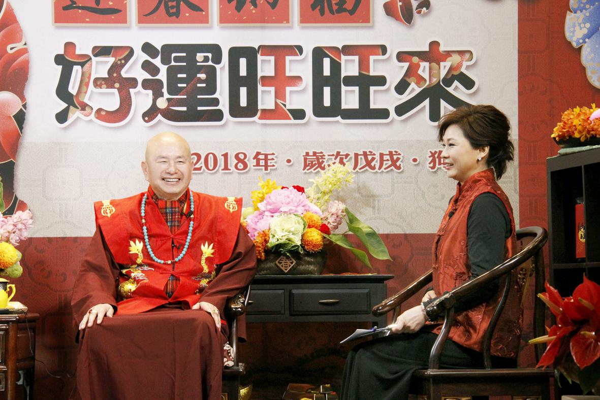 蓮生法王盧勝彥接受張月麗小姐專訪