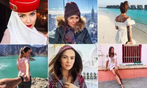 正妹空姐一年玩遍74國家 夢幻工作萬名網友羨慕