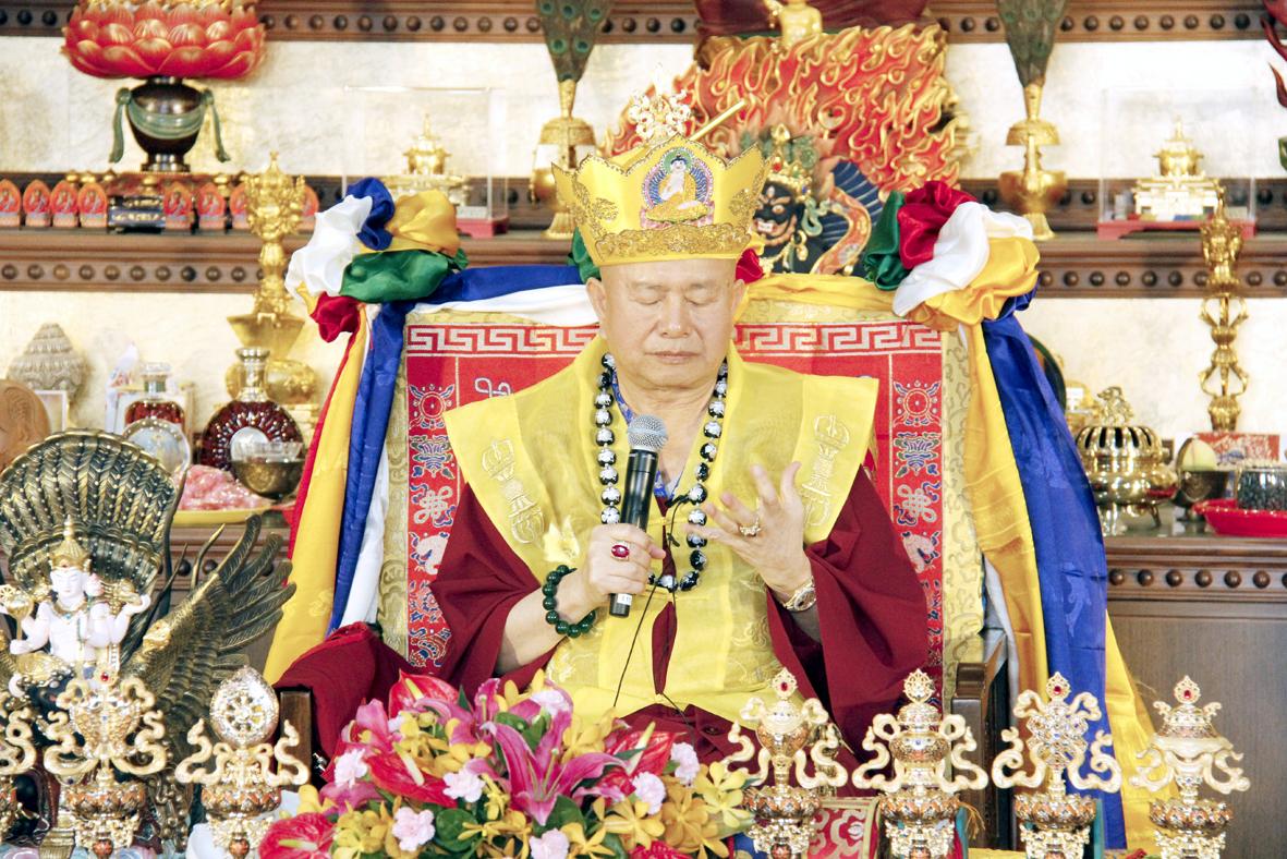 蓮生法王神算預測5月至7月會下雨