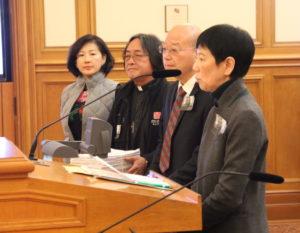 多位華裔僑領到場發言