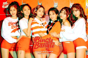 AOA迷你5輯「Bingle Bangle」概念照