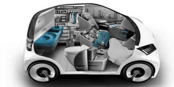 AI無人自駕車生活化設計理念