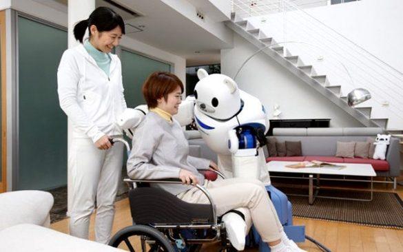 AI機器人協助醫護工作