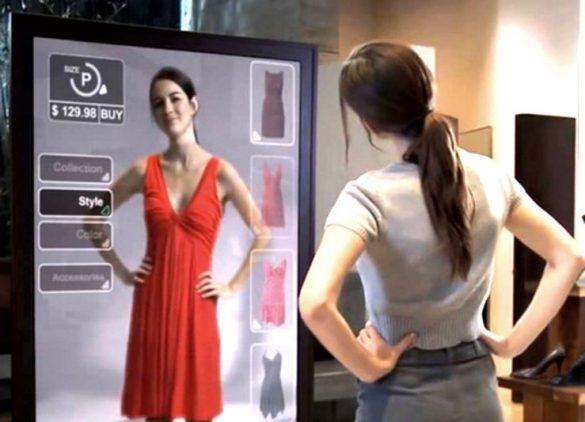 虛擬時尚試衣間