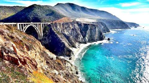 美國加州  大索爾公路美景