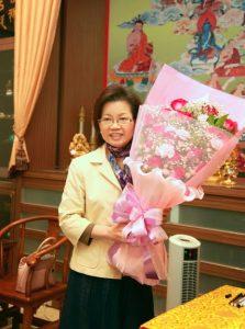 師母蓮香金剛上師2011年12月4日攝於臺中霧峰蓮生活佛創作館