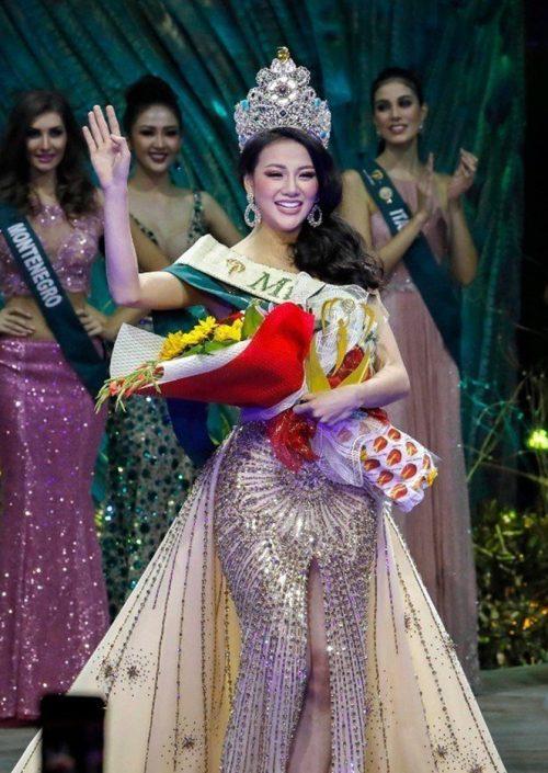 越南佳麗奪得2018年地球小姐選美冠軍